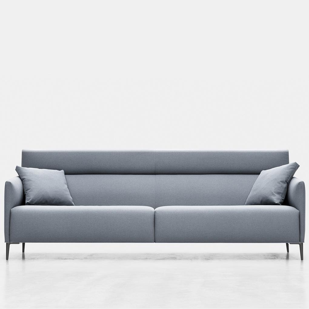 Sof grey mbit for Marcas de sofas buenos