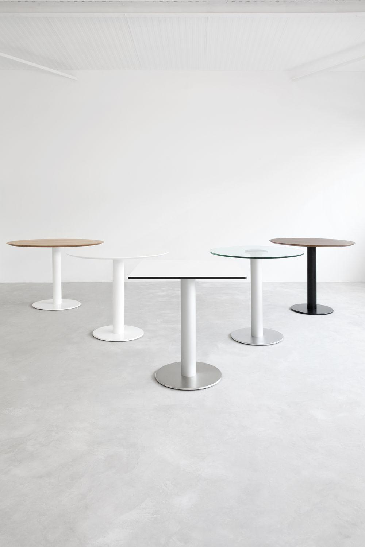 stua-zero-mesa-pie-base-acero-cromado-aceroinox-tapa-madera-hpl-redonda-cuadrada-nogal-roble-
