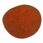 alfombra-nanimarquina-bichosyflores-naranja-