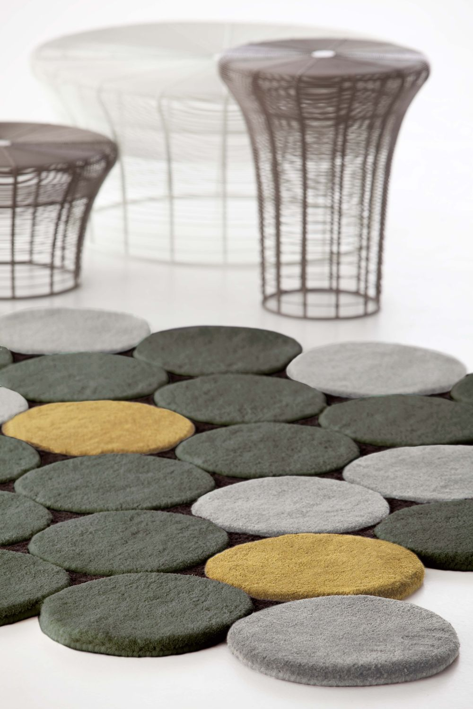 Alfombra circulos mbit - Marcas de alfombras ...