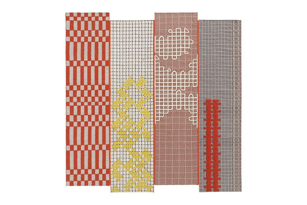 alfombra-rug-marca-gan-gandia-color-bandas-patricia-urquiola-naranja
