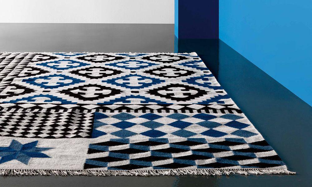 Alfombra kilim palermo mbit for Moderne teppiche bilder
