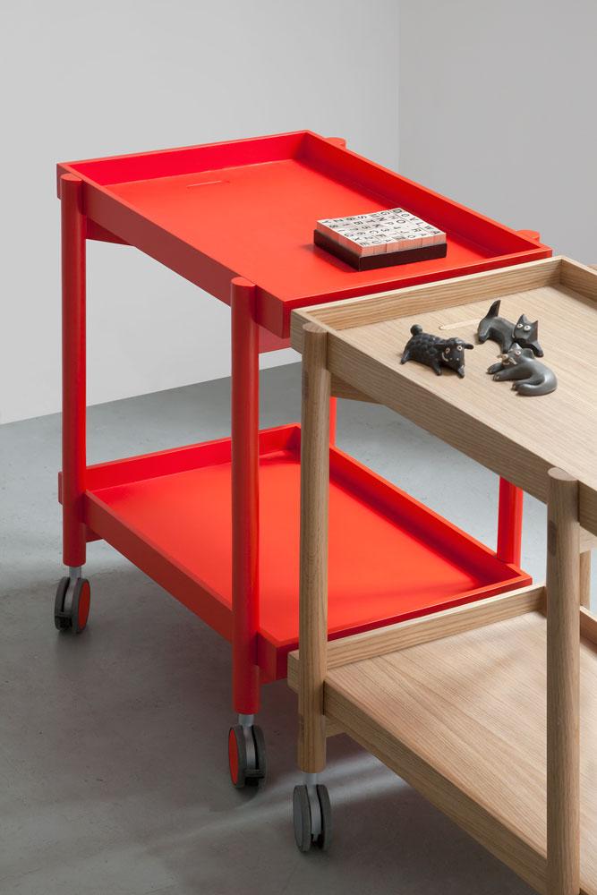 Camareras muebles auxiliares dise os arquitect nicos for Carrito de cocina con ruedas