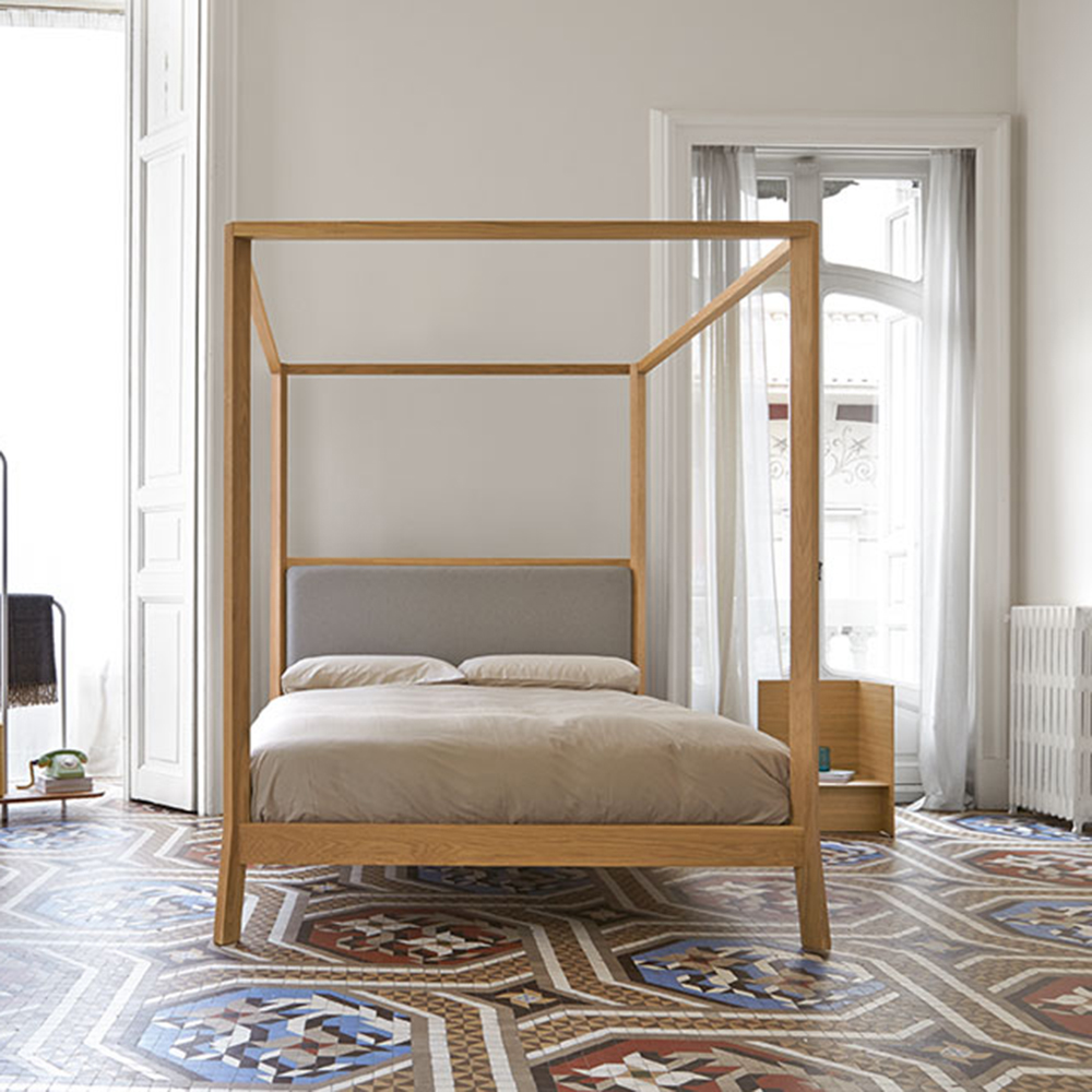 cama-punt-puntmobles-breda-madera-roble-laca-condosel-cabezal-tapizado