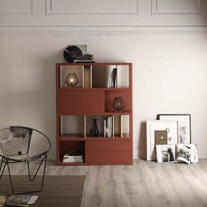 libreria-marca-treku-kai-libreriacolor-libreriamadera-libreria-modular