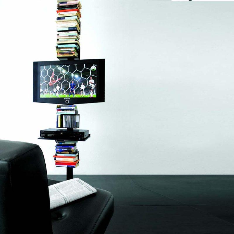 libreria-extendo-metálica-tv