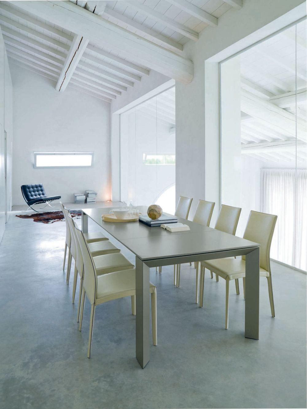 Mesa new edro mbit - Sobre de cristal para mesa ...