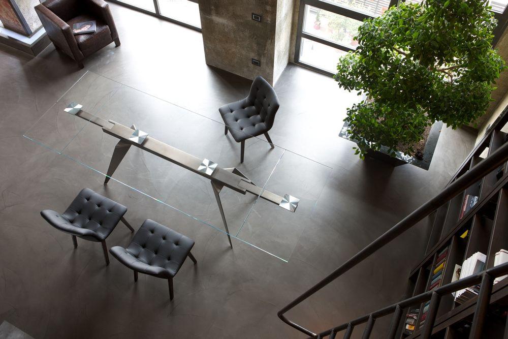 Mesa ramos mbit - Sobre de cristal para mesa ...