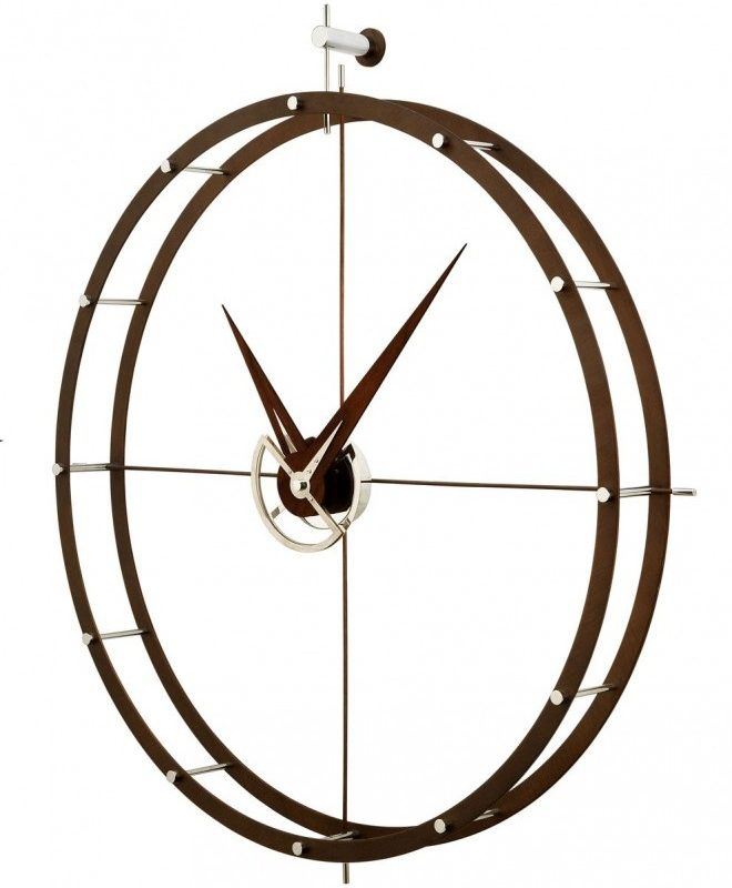 reloj-marca-nomon-dobleo-reloj-pared-reloj-aro-madera-2