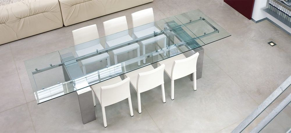 Mesa Cristal Extensible Ikea - Arquitectura Del Hogar - Serart.net