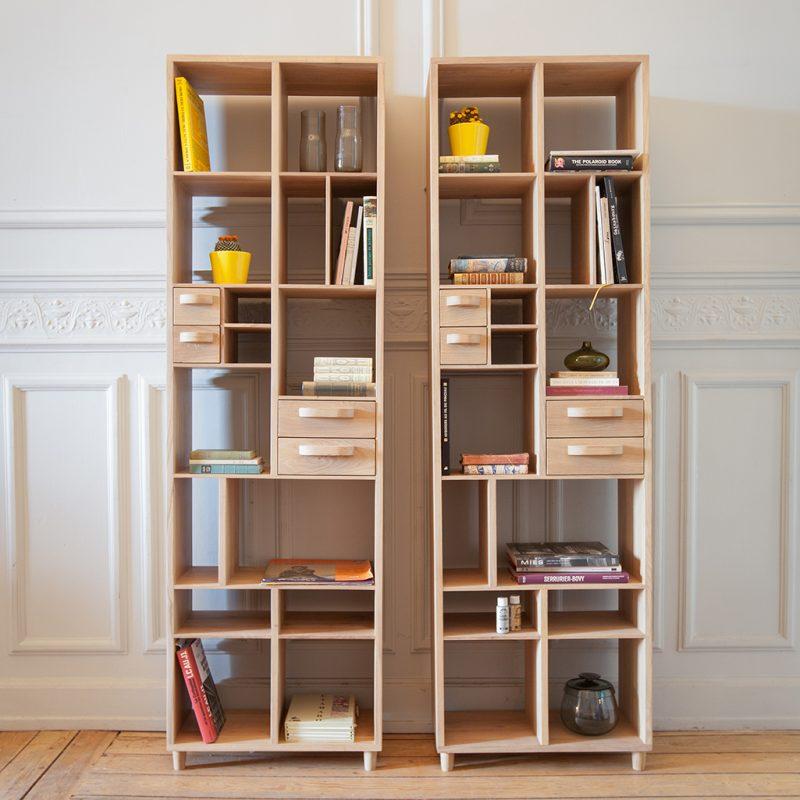 Origami & Pirouette bookrack-estantería-librería-Mr.Marius