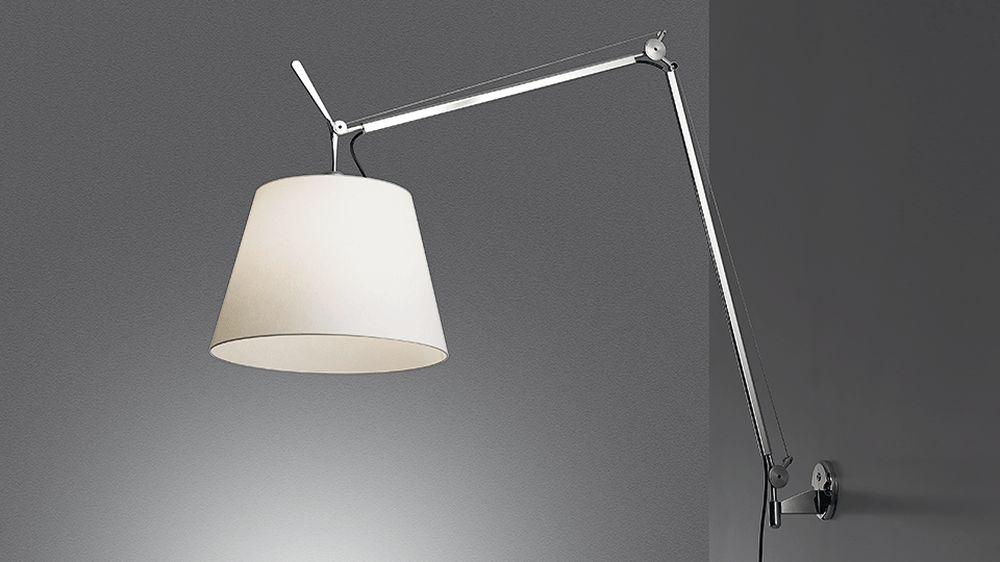 artemide lampara tolomeo pared mega - Lampara Pared