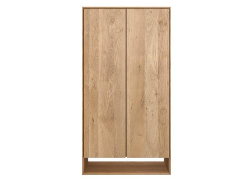 Armario nordic mbit for Armario madera natural