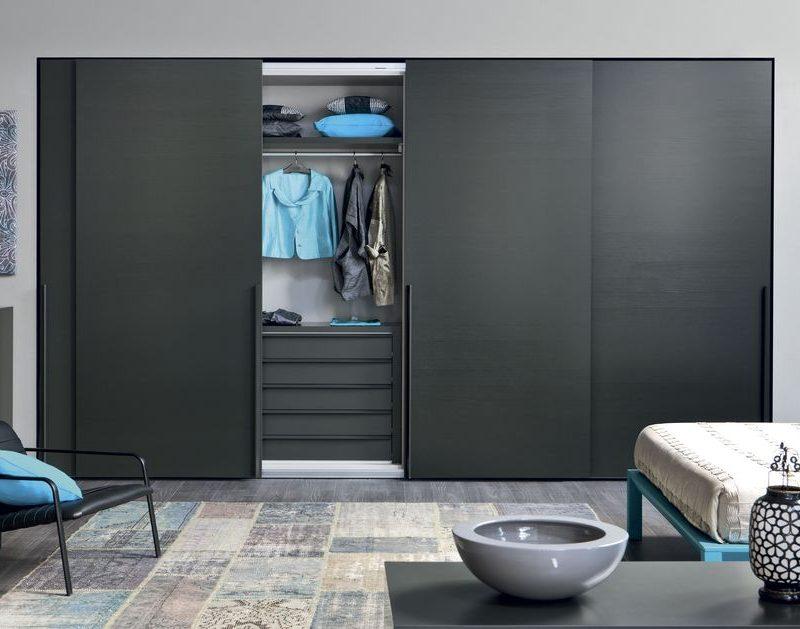 armario puertas marco aluminio y laminado