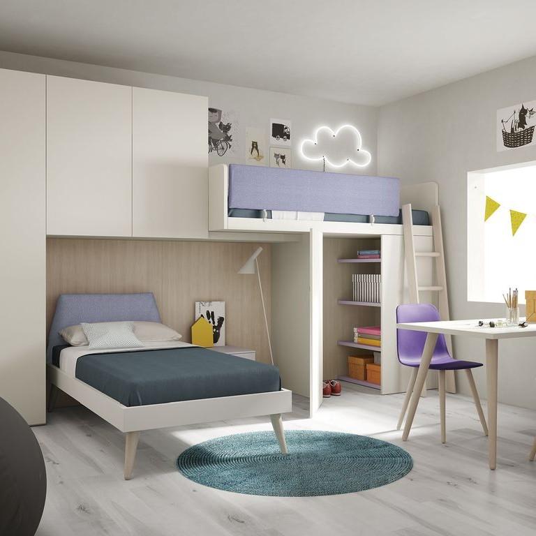 Juveniles con estilo juveniles estilo escandinavo save for Dormitorio juvenil estilo nordico