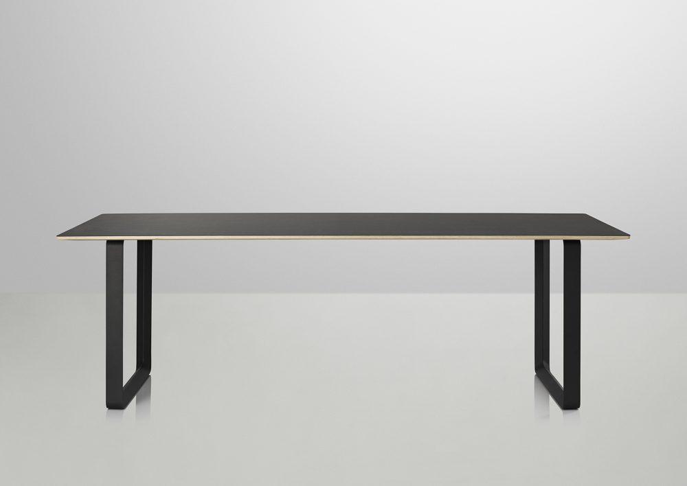 Mesa-70×70-Muuto-negra-Black