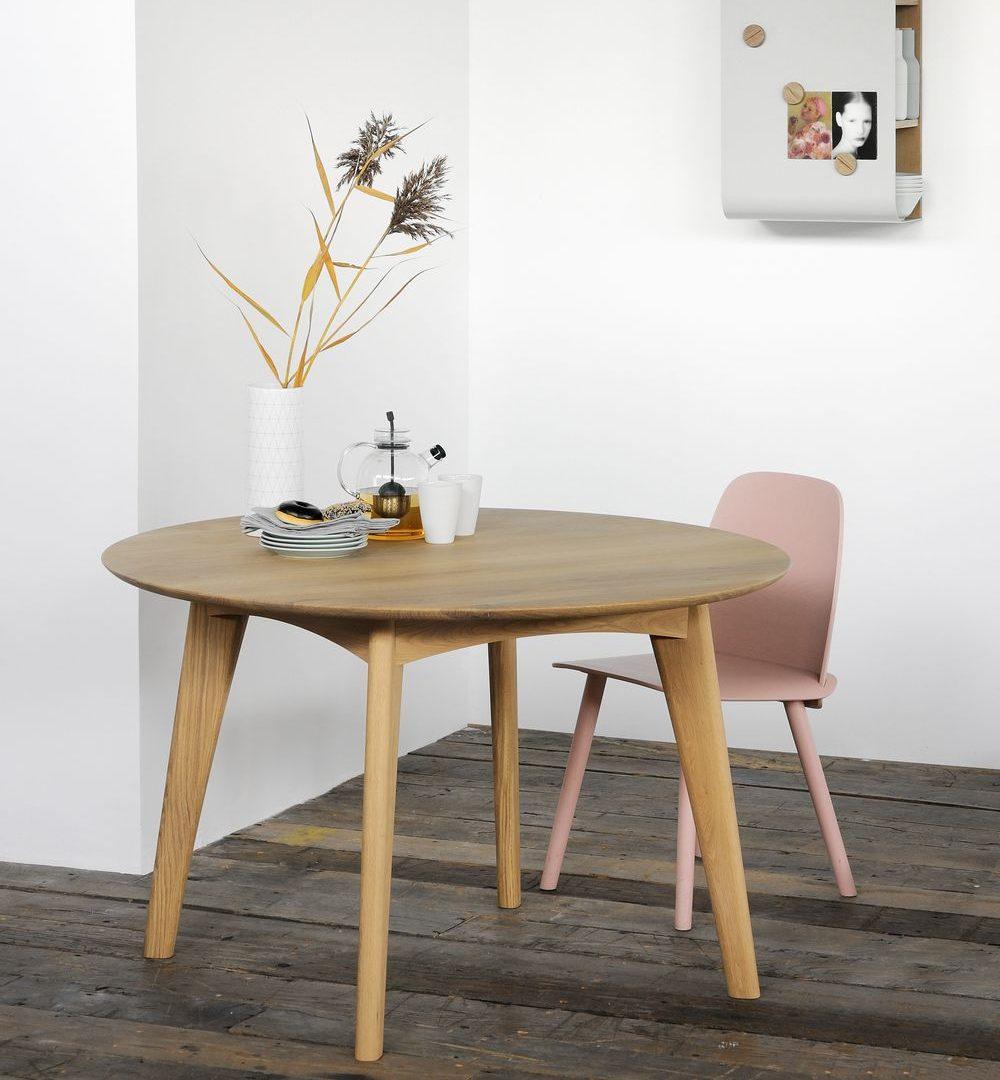 Osso, mesa de comedor redonda | Àmbit