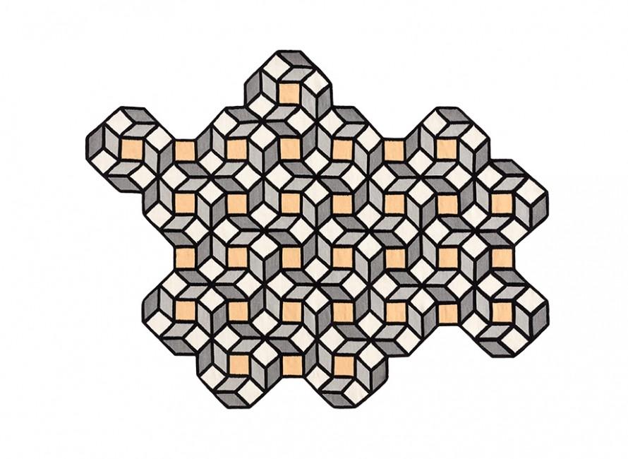 Alfambra-rug-Gandia-Blasco-parquet-Rhomb