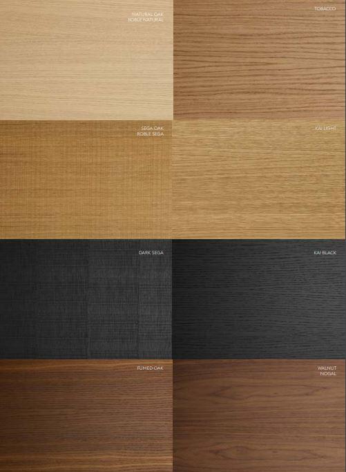 colores madera treku