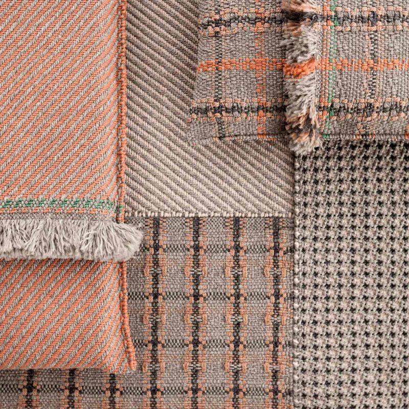 garden-layers-checks-terracotta-rug-gan-rugs