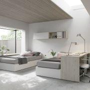 Habitación-juvenil-doble-escritorio-jjp-jotajotape