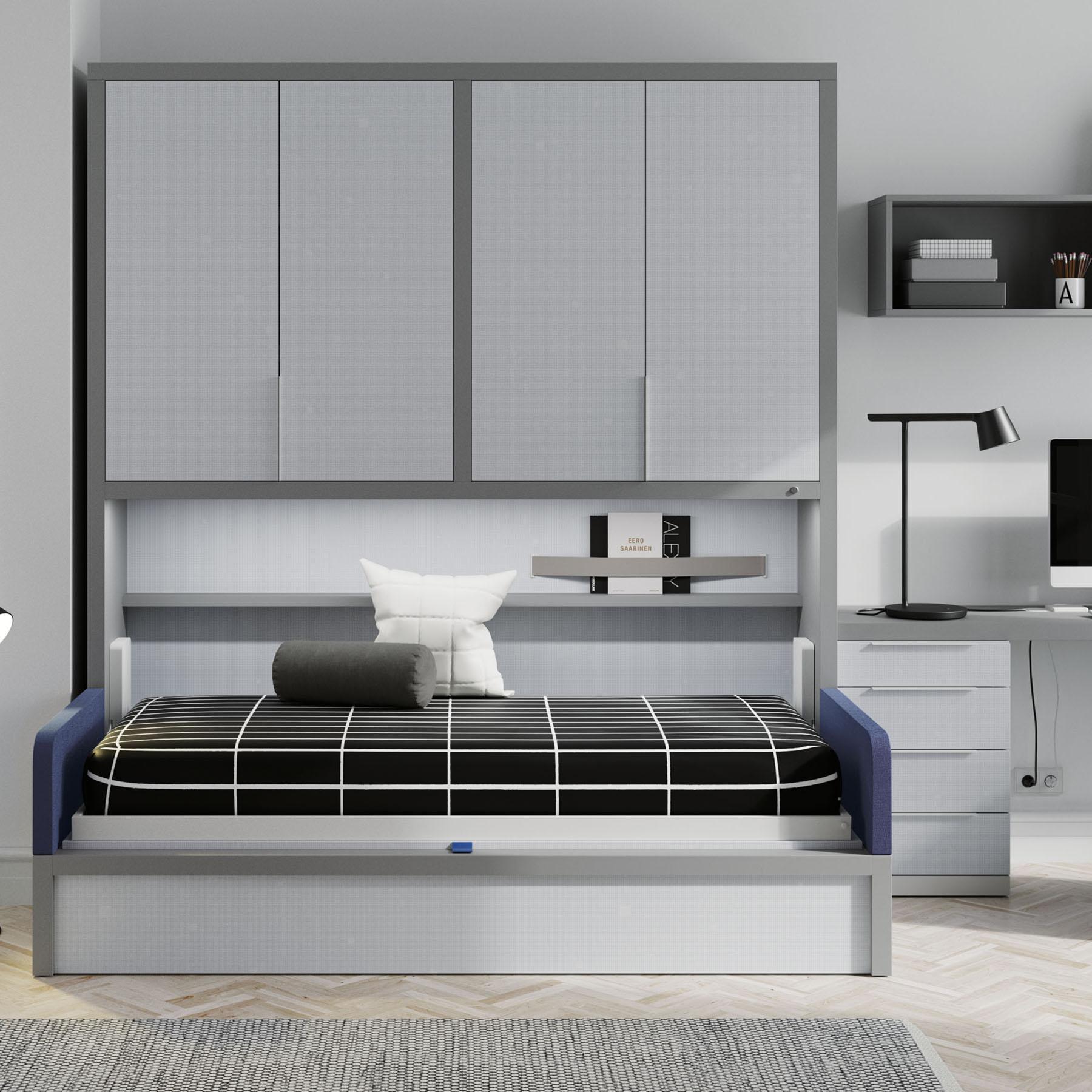 Habitaci n juvenil cama abatible 4 mbit - Habitacion juvenil cama abatible ...