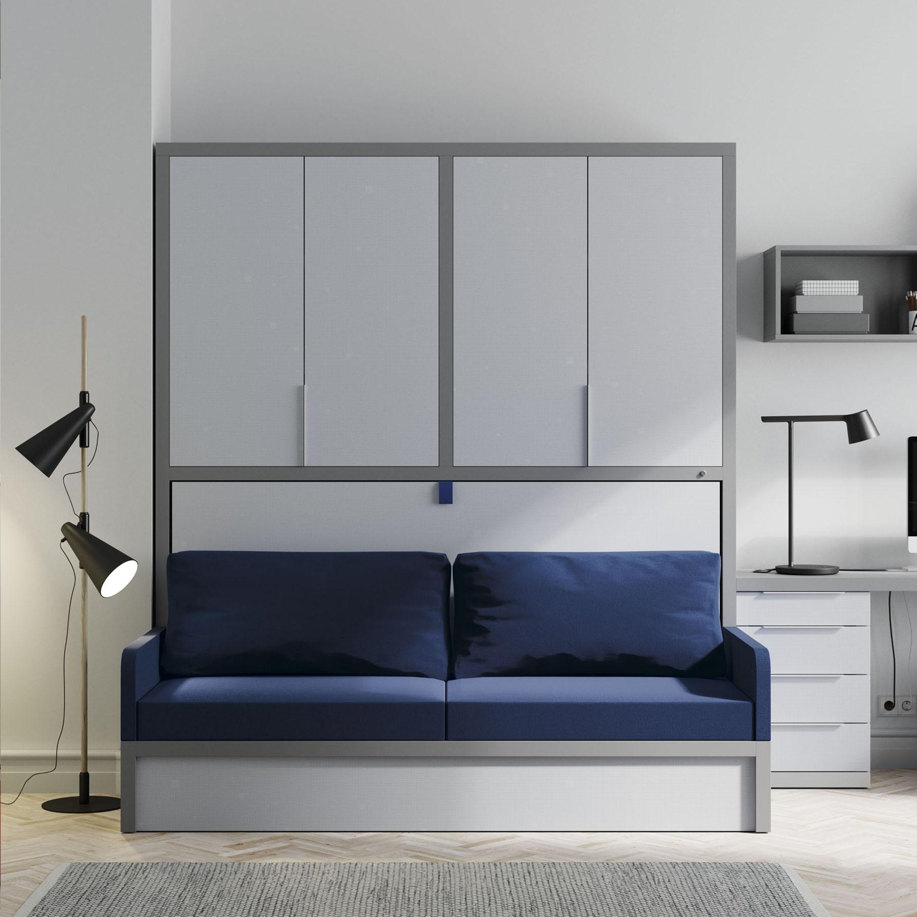 Habitaci n juvenil con cama abatible sof mbit - Sofa cama juvenil ...