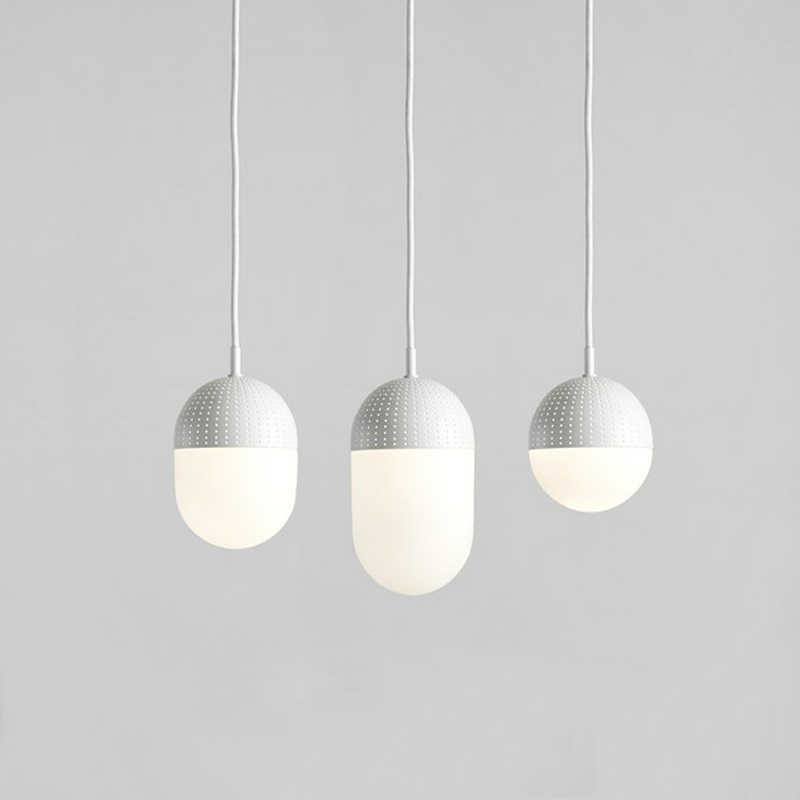 Lámpara Dot-Woud-Blanca
