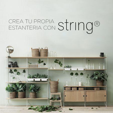 Crea tu propia estanteria con String