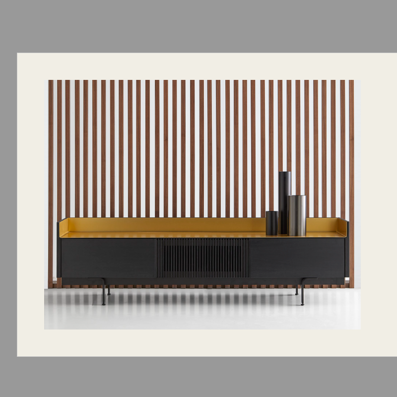 Mueble de tv o aparador slim de la colección stockholm
